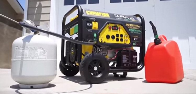 Best Dual Fuel Generators Min